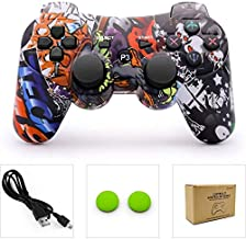 dainslef PS3 Controller Wireless Dualshock Remote/Gamepad for Sony Playstation 3 Bluetooth PS3 Sixaxis Joystick with Charging Cable (Horde)