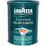 LavAzza Premium Coffees, Decaffeinated Ground Coffee, Espresso, 8 oz (226.8 g) - 2pcs