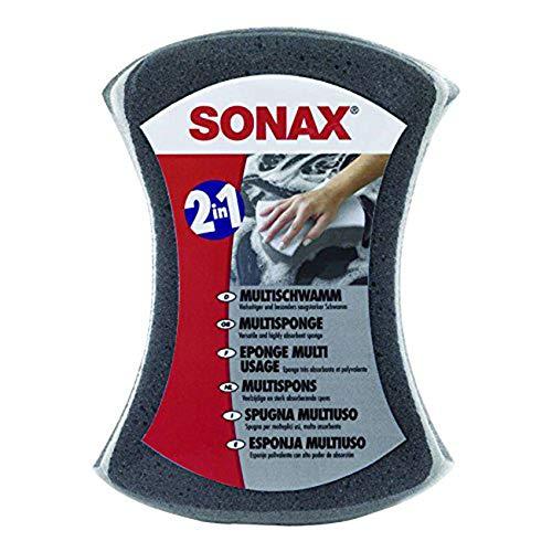 SONAX multispons (1 stuks) bijzonder absorberende alleskunner voor het reinigen van de auto | Artikelnr. 04280000