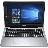 Asus 15.6' High Performance Flagship Laptop PC - AMD Quad-Core A10 Processor, 6GB RAM, 500GB HDD, AMD Radeon R6 graphics, DVD, Bluetooth, HDMI, Webcam, Windows 10