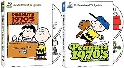 Peanuts 1970s Collection: Volume 1 and Volume 2