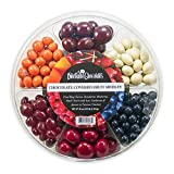 HIGHEST QUALITY INGREDIENTS: Dilettante Chocolates creates its iconic chocolate covered fruit by coating each piece in premium quality milk chocolate SPECIALTY COATING METHODS: Each piece of fruit is made with specialty revolving kettle drums to tumb...