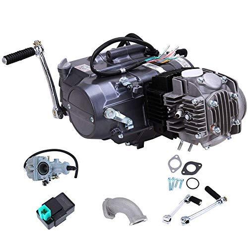 4-Stroke 125CC Motor Engine Pit Dirt Bike ATV Quad Kit Manual Clutch Single Cylinder CDI Air Cooled for CRF50 CRF70 XR50 XR70 Z50 Z50R