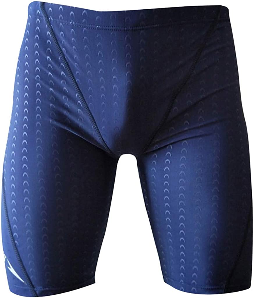 DIOMOR Men's Classic Drawstring Inside Knee Length Slim Fit Swim Shorts Quick Dry Water Athletic Trunks Surfing Pants