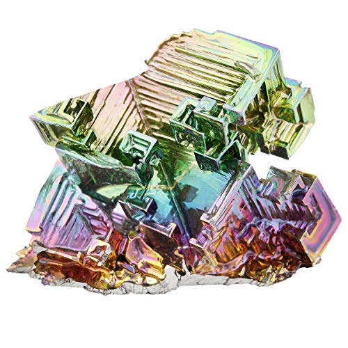 Rockcloud 1-1.5' Bismuth Crystal Healing Crystal Irregular Home...