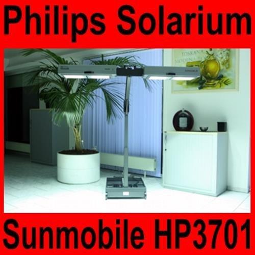 Overdrive-Racing Solarium Philips Sunmobile HP 3701 Homesun Sonnenbank - mobiles Heimsolarium