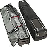 Athletico Rolling Double Ski Bag - Padded Ski Bag with...
