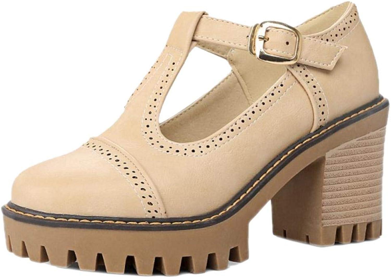 Unm Women's Block Heel Court shoes