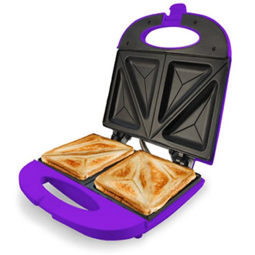 Jocca 5064M Sandwichera, color morado, 750 W, Aluminio