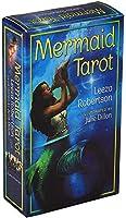 HEZHANG Eguide Bookを搭載したフル英語版のmermaid Tarot Deck。教育カードゲーム占いゲームの運命予測ゲームカード