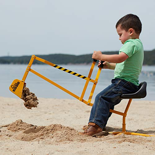 Reeves International The Big Dig Sandbox Digger Excavator Crane