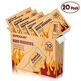 Paquete de 40 Calentadores de Cuerpo Ecol/ógicos Parches de calor activados por aire de hasta 10 horas de calor.