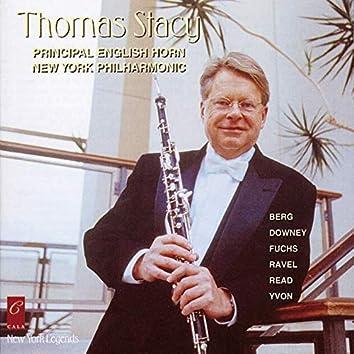 Thomas Stacy Plays Fuchs, Berg, Ravel, Downey, Yvon and Read