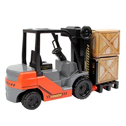 1: 22 Gabelstapler Modell Spielzuegauto für Kinder Lernspielzeug zum motorische Fähigkeiten und Bewegung