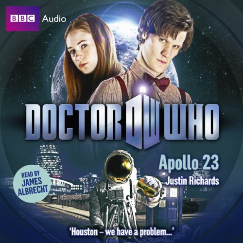 Doctor Who: Apollo 23 audiobook cover art