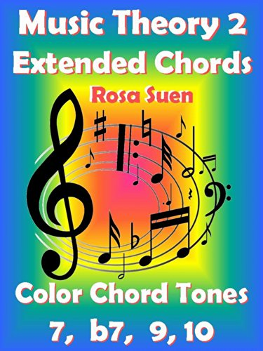 Music Theory 2 - Extended Chords - Color Chord Tones - 7, b7, 9, 10: Learn Piano Chords (English Edition)