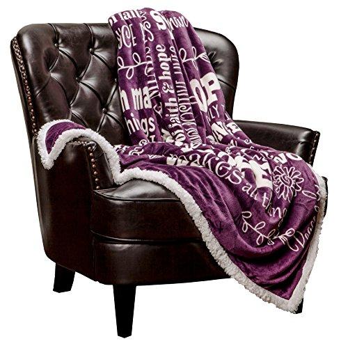 Hope Faith Prayer Inspirational Blanket