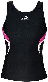 e1b7275519 Regata Feminina Triathlon Hammerhead Short Distance Preto-Rosa P