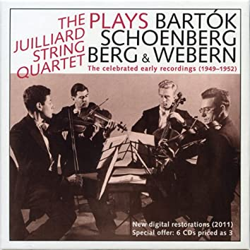 The Juilliard Quartet: The Celebrated Early Recordings (1949-1952)