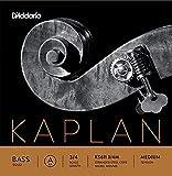 D'Addario Kaplan Solo. Cuerda A para contrabajo, escala 3/4, tensión media...