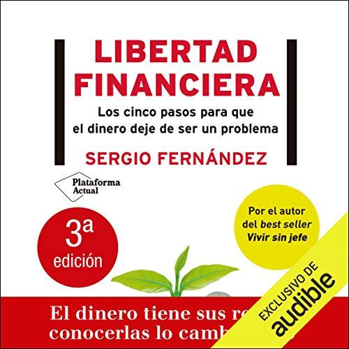 Diseño de la portada del título Libertad financiera