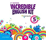 Incredible English kit 5: CD 3rd Edition (Incredible English Kit Third Edition) - 9780194443852