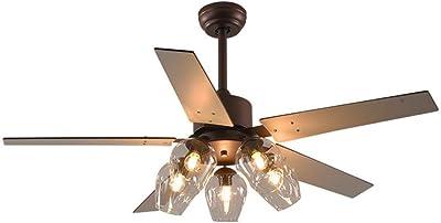 Lámpara de araña de ventilador de restaurante creativo ...