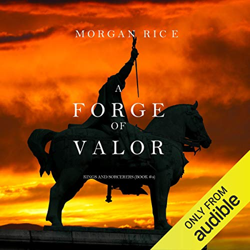 A Forge of Valor audiobook cover art