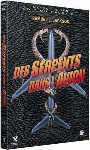 Des serpents dans l'avion [Francia] [DVD]