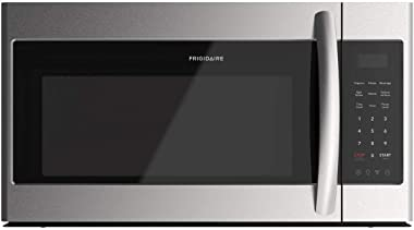 """Frigidaire FFMV1846VS 30"""" Stainless Steel Over the Range Microwave with 1.8 cu. ft. Capacity, 1000 Cooking Watts, Child Lock and 300 CFM, in Stainless Steel"""
