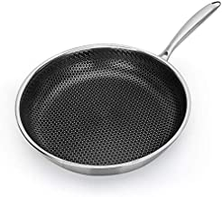 Kitchen Cookware Stainless Steel Skillet - Nonstick Fry Pan - Induction Compatible - Multipurpose Cookware Use for Home Ki...