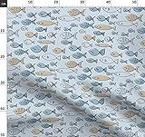 Fisch, Grau, Ozean, Meer, Blau, Fische, Fluss Stoffe -