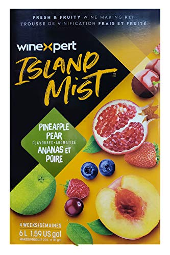 Midwest Homebrewing and Winemaking Supplies - 3843115 Pineapple Pear Pinot Grigio (Island Mist)