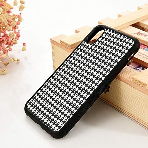 für iPhone 5 5S 6 6S Soft Phone Case Cover für iPhone 7 Plus XX 11 Pro Max XR Weißes Anordnungsmuster, für iPhone 5S