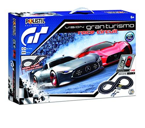 Polistil- Pista Batteria Vision GT Race, 960772