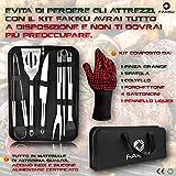 Zoom IMG-2 fakiku set barbecue kit accessori