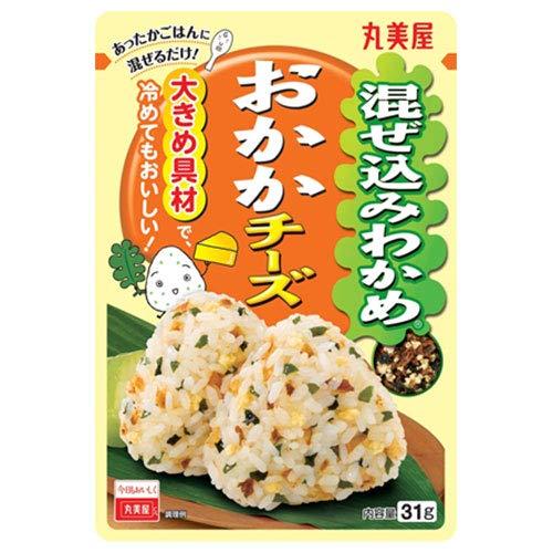 丸美屋 混ぜ込みわかめ おかかチーズ 31g×10袋入×(2ケース)