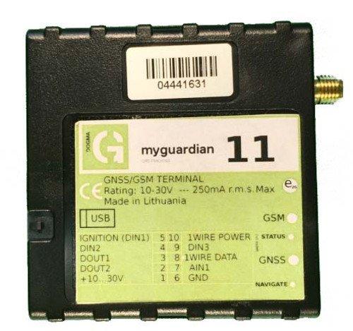 Localizzatore satellitare MyRent GPS 11 per autonoleggiatori/noleggiatori di mezzi, con Blocco Motore