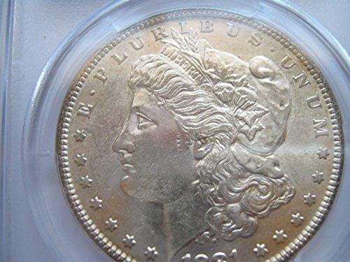 1881 Morgan $1 PCGS AU58