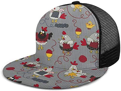 Kip Gebreide Trui Verstelbare Cowboy Denim Hoed Unisex Hip Hop Baseball Caps