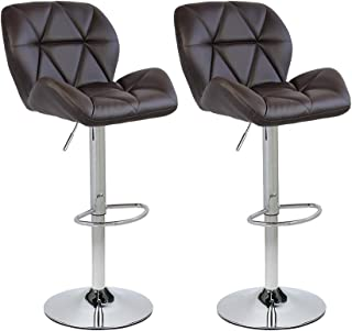 Best brown bar stools leather Reviews