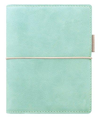 Filofax Pocket Domino zacht Organizer- Blau Grün