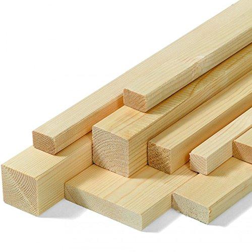 Listello asta in legno di abete H2mt varie dimensioni fai da te bricolage (20x40x2000 mm)