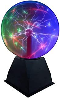 glass ball with lightning inside