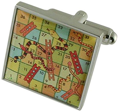 Select Gifts Collegamenti del bracciale gioco gemelli~Board Game~Classic serpenti & scale gemelli selezionare borsa regalo