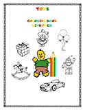 Toys Coloring Book with Fred: Gift for Kids (8,5'x11', Pages 31, White Paper, Glossy Cover): 4
