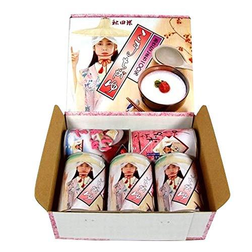 防災 食品 こまちがゆ詰合せギフト5缶セット 非常食 ごはん セット【メーカー直送品こまち】