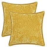 Farmhouse Decorative Throw Pillow Covers Set of 2...