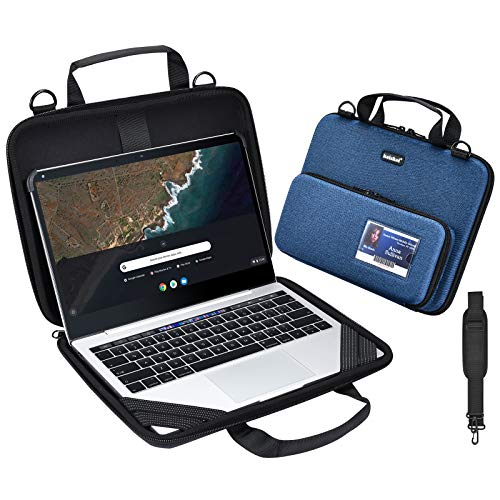 Chromebook Laptop Work-in Carrying case, Protective Notebook Cover, 11-11.6 in EVA Always on Laptop Sleeve with Pouch and Shoulder Bag for Acer Samsung lenevo ASUS HP Dell MacBook Air