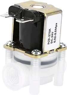 V/álvula solenoide neum/ática DC 12V Normalmente cerrada 3 posiciones 5 v/ías BSP 1//4 0.15-0.8MPa 4V230-08P